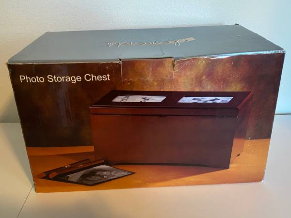 Photo Brand New Elements Photo Storage Chest - $20 (san bruno)