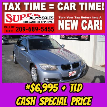 Photo Cash Price Special - Sporty 2009 BMW 3 SERIES 328i V6 AT - $6995 (Super Auto Sales Modesto CA)