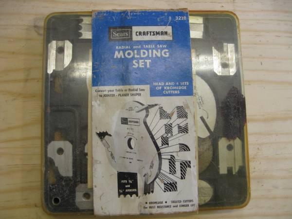 Photo Craftsman Table Saw Molding Set - $45 (NE Modesto)
