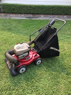 Photo Craftsman Yard VacuumChipper - $200 (Modesto)
