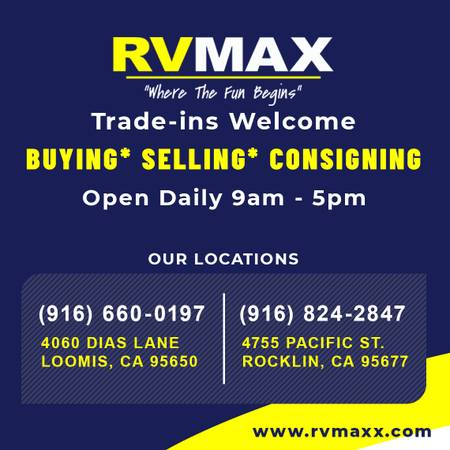 Photo GET THE MOST $$$$ OUT OF YOUR RV W RVMAX39s CONSIGNMENT PROGRAM (RVMAX- ALL AREAS)