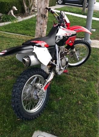 Photo Honda XR400 - $1800 (Modesto)