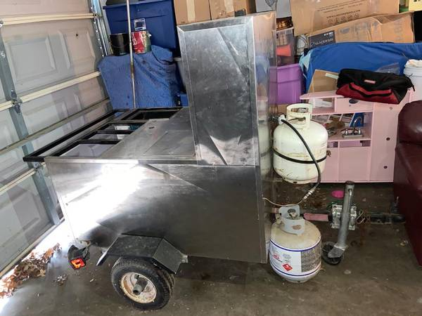 Photo Hot Dog Cart - $2500