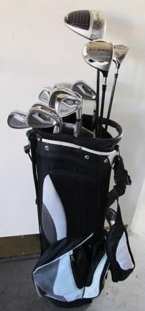 Photo Men39s Golf Set w King Cobra SS Oversize IronsWds,WedgePutterBag - $200 (E.Modesto)