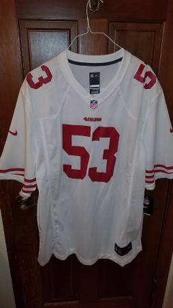 Photo Men39s San Francisco 49ers jersey - $100 (tracy)