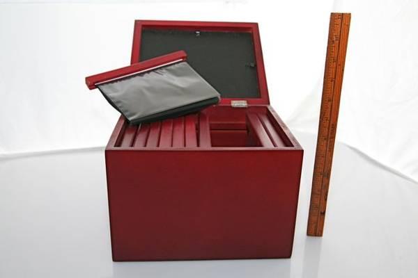 Photo Photo Storage Box -- Rare Woods Brand - $20 (san rafael)