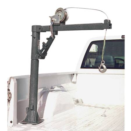 Photo Pick Up Truck Bed Crane With Hand Winch - $150 (Modesto)