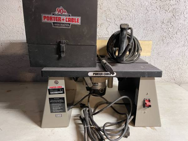 Photo Porter cable router and router table - $200 (Oakdale)