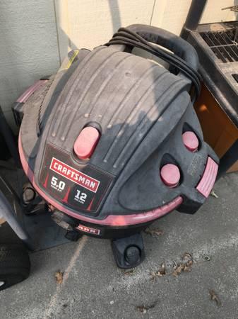 Photo Shop Vac - Craftsman 12 Gallon 5hp - $45 (Modesto- College Neighborhood)
