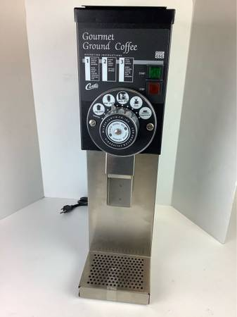 Photo Single Coffee Grinder Proffesional GSG-3BLK Commercial Coffee Grinder. Missing b - $809