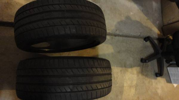 Photo Tires 24540 R19 Michelin Primacy BMW - $50 (Modesto)