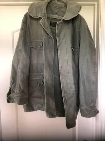 Photo Vintage Air Force Man39s Field Jacket Size MR - $25