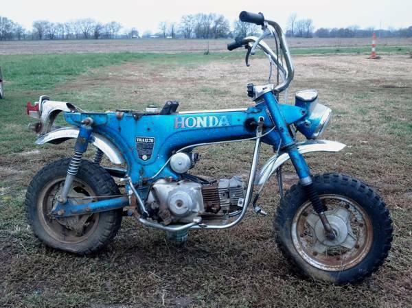 Photo Wanted Honda CT70 XR75 SL70 Trail 70 Z50 XR 75 SL 70 CT 70 Z50 Z 50 (Central Valley)