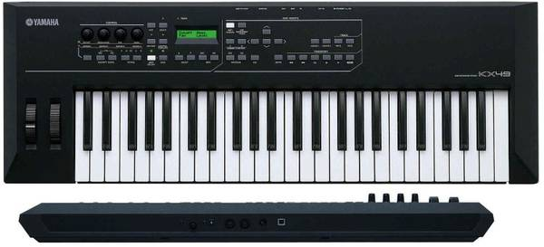 Photo Yamaha KX49 USB Keyboard controller with bag - $180 (Modesto)