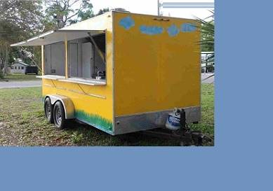 Photo Gwen CateringFast Food trailer 7x14 Have for sale my  - $800 (modesto)