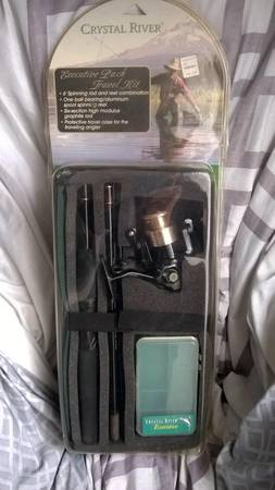 Photo fishing pole..$30NEW..........WORTH$60 AT BIG 5 - $30 (Modesto)
