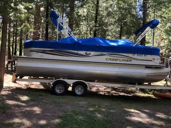 Photo large 25quot pontoon room for 12 - $24,500 (Modesto)