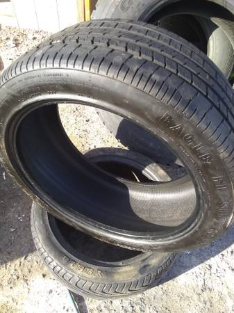 Photo 17,18,19 inch low profile tires$30ea - $30 (Golden Valley)