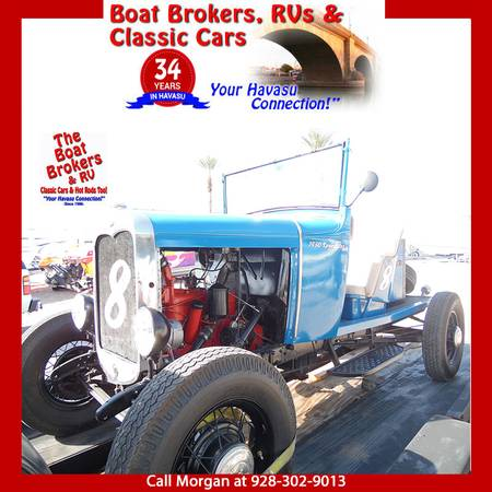 Photo 1930 Ford Model A Custom Speedster - $9,000 (Lake Havasu City)