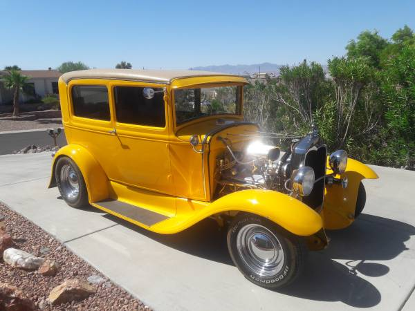 Photo 1930 Ford hot rod Model A - $37000 (Bullhead City Arizona)