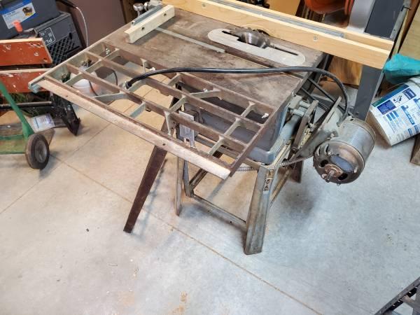 Photo 1955 Craftsman Table Saw (negotiable) - $399 (Kingman)