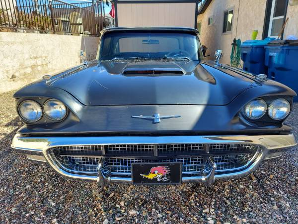 Photo 1960 Ford Thunderbird - $9,000 (lake havasu city)