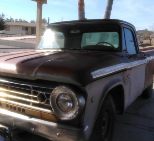 Photo 1967 Dodge pickup - $1500 (Bullhead City)