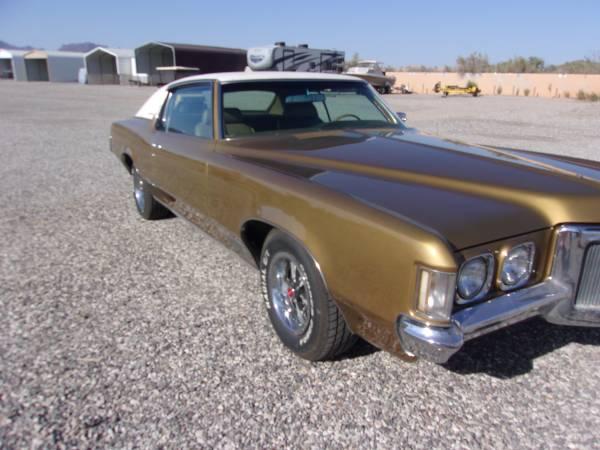 Photo 1970 Grand Prix Pontiac - $19,500 (Earp, CA.)