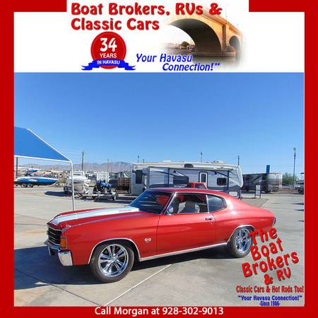 Photo 1972 CHEVY CHEVELLE SS 454 in Great Condition - $41,500 (Lake Havasu City)