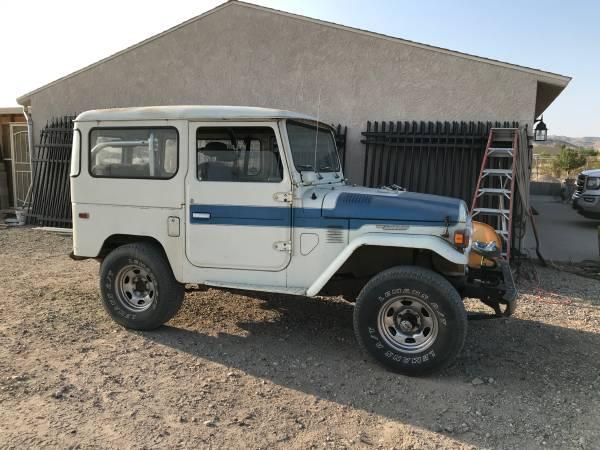 Photo 1976 Toyota Fj 40 Landcruiser - $12,000 (Lake Havasu City)
