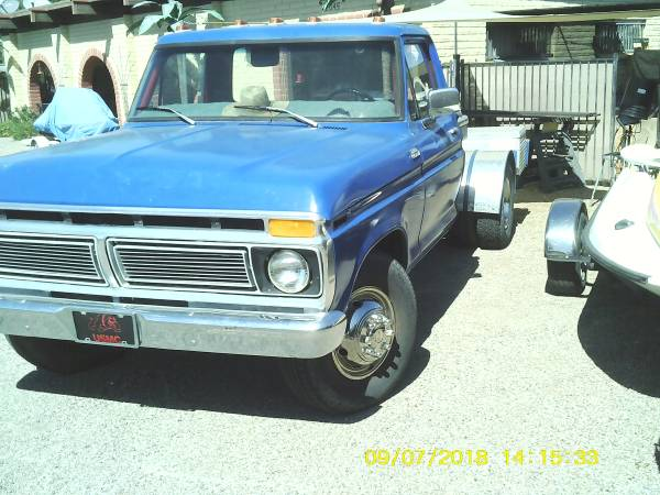 Photo 1977 Ford F 350 - $3900 (Bullhead City)