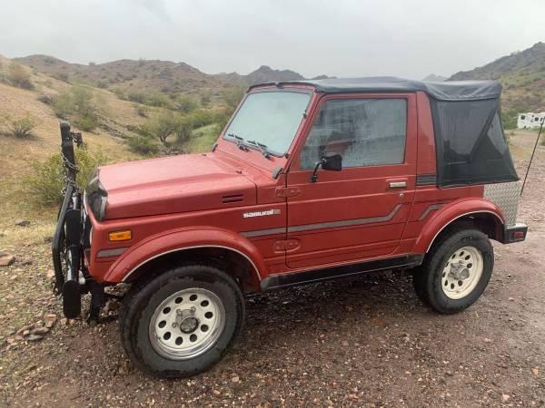 Photo 1986 Suzuki Samurai JX Convertible - $4800 (Lake Havasu City)