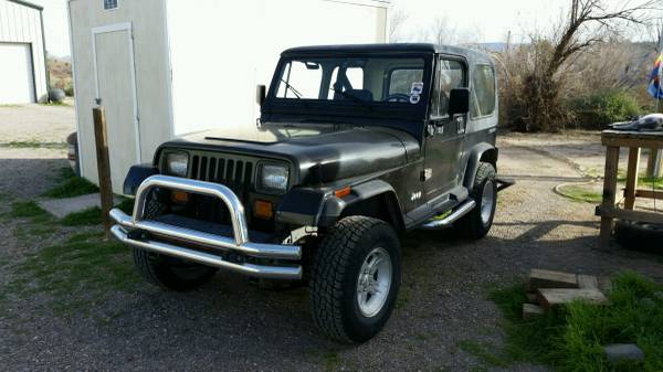 Photo 1988 Jeep YJ - $5000 (Mohave Valley)