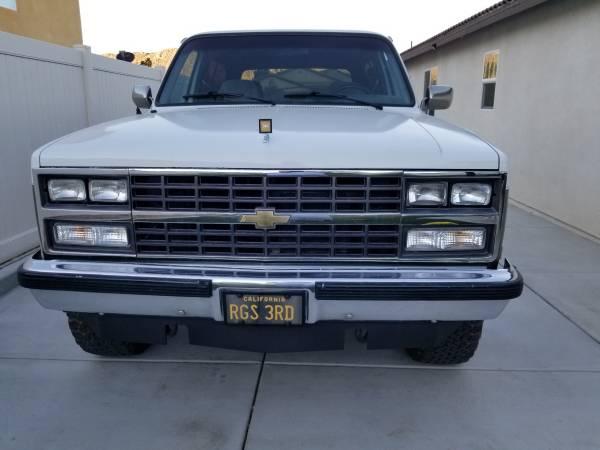 Photo 1989 chevy k5 Blazer - $18,000