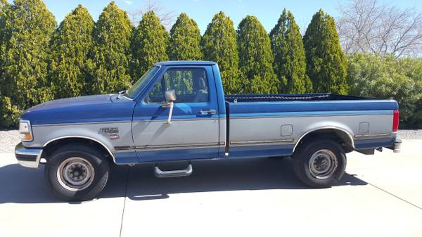 Photo 1995 Ford F250 7.3 Powerstroke Diesel - $4500 (Kingman)