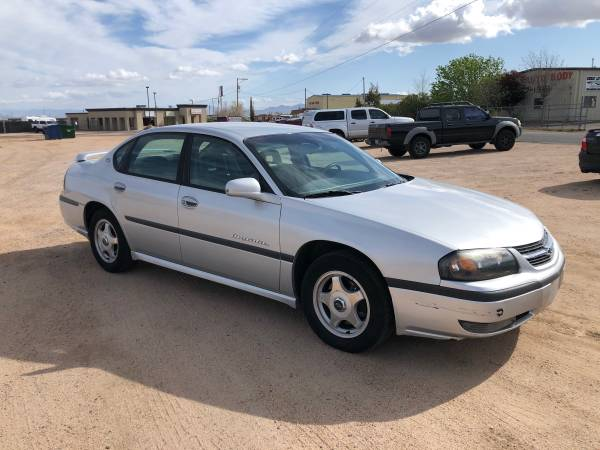 Photo 2002 Chevrolet Chevy Impala v6 Really nice reliable car - $3800 (Kingman)