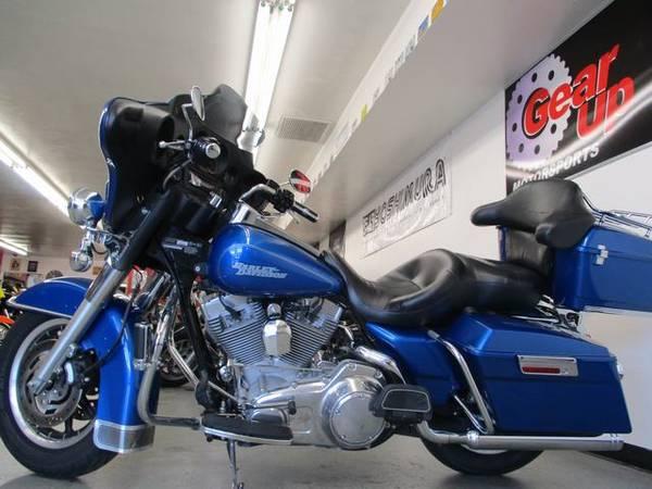 Photo 2007 HARLEY DAVIDSON ELECTRA GLIDE STANDARD - TOUR PAK - $7495 (GEAR UP MOTORSPORTS)