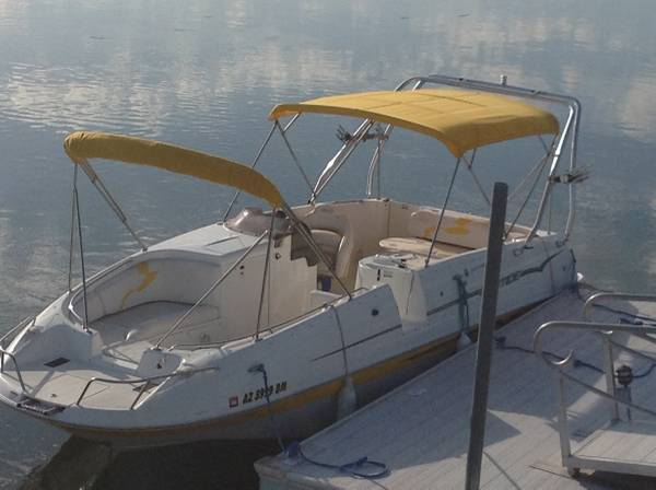 Photo 2008 26 EbbTide Deck Boat and Trailer - $35000 (Mohave Valley)