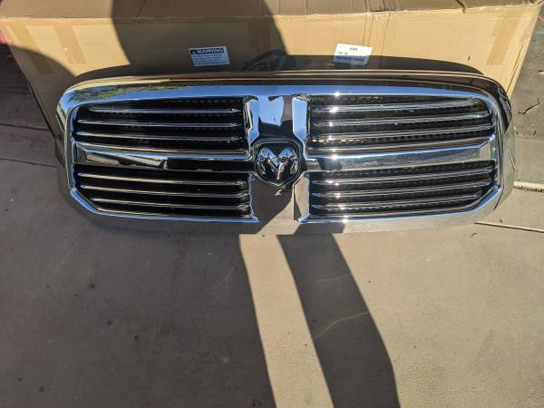 Photo 2013-2019 Classic Dodge Ram Chrome Grille - $100 (Lake Havasu City)