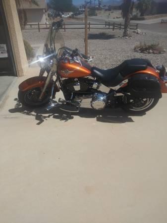 Photo 2014 Harley Davidson fatboy - $10,000 (Lake Havasu City)