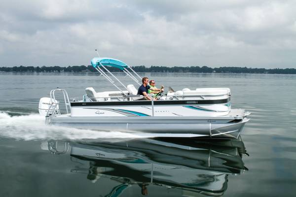 Photo 2021 Qwest Avanti 2839ft Triple Tube Pontoon Boat with Honda 250hp - $79,500 (Germaine Marine Lake Havasu)