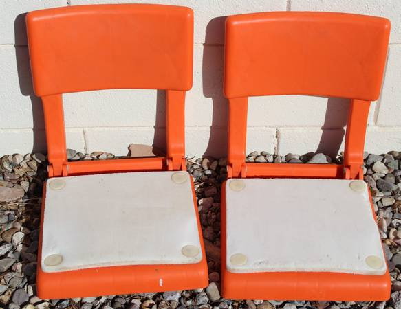 Photo 2 Folding Portable Canoe  Boat Seats - $15 (FORT MOHAVE)