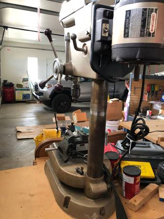 Photo Craftsman Vintage drill press - $300 (lake Havasu City)