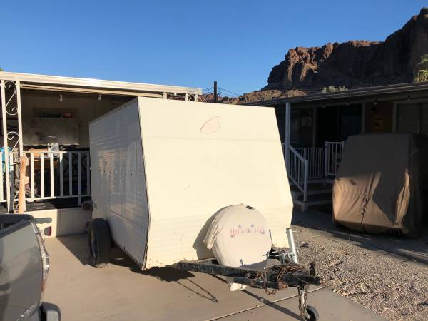 Photo Dico box trailer - $900 (parker az)