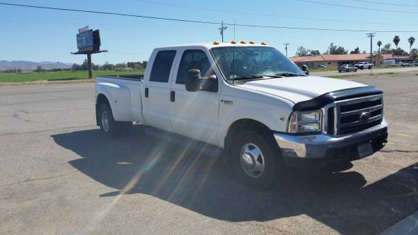 Photo FORD DUALLY CREW CAB F-350 (2000) - $8000 (MOHAVE VALLEY)