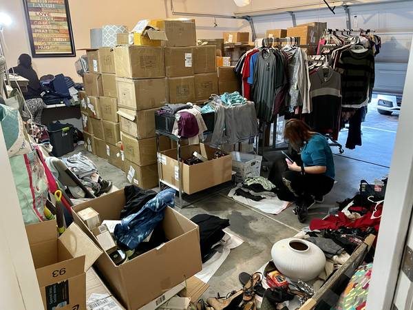 Photo Garage Sale - Lots of Brand New and Name Brand Items (Blue Diamond)
