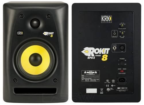 Photo KRK Rokit 8 Generation 2 Powered Studio Monitors - $290 (Golden Valley)
