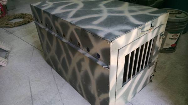 Photo Large Aluminum Dog Kennel (Mohave Valley)