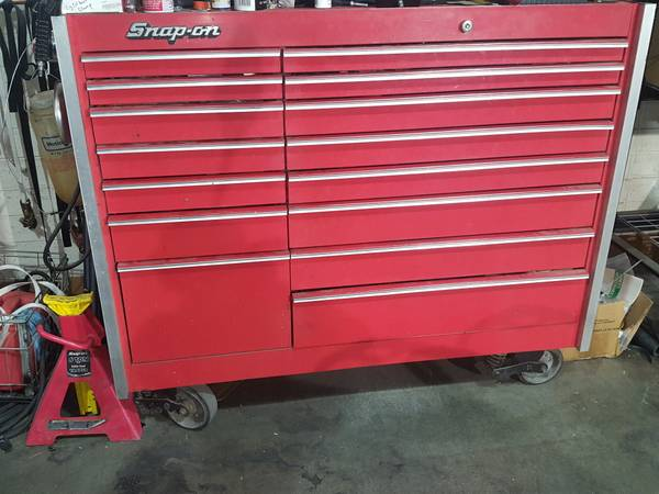 Photo Snap On KR1000 box loaded with tools - $6000 (Kingman)