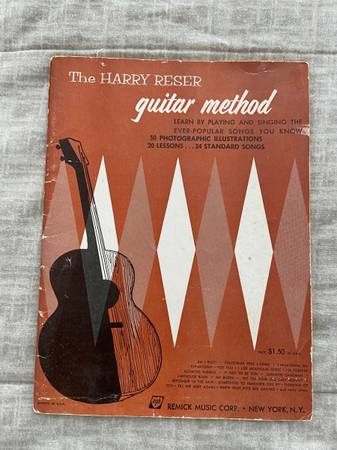 Photo The Harry Reser Guitar Method for Guitar - $10 (Fountain Hills)